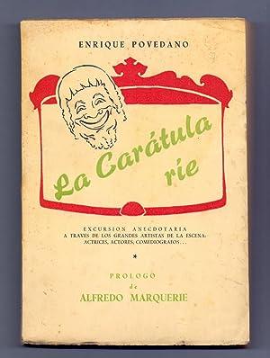 LA CARATULA RIE (Prologo de alfredo marquerie): Enrique Povedano