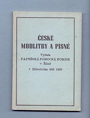 CESKE MODLITBY A PISNE - VYDALA PAPEZSKA