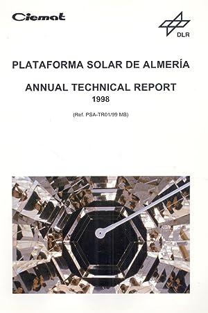 PLATAFORMA SOLAR DE ALMERIA - ANNUAL TECHNICAL: Manuel Blanco Muriel