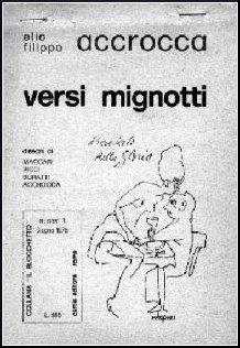 Versi mignotti: ACCROCCA Elio Filippo