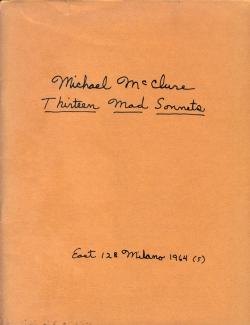 Thirteen Mad Sonnets: MCCLURE Michael