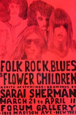 Folk rock, blues & flower children. A: Sherman - BERNARI