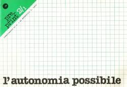 L'autonomia possibile: PRE/PRINT