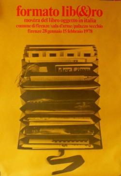 Formato lib(&)ro. Mostra del libro oggetto in: Mostre anni '70
