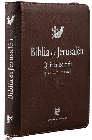 Biblia de Jerusalén. Modelo cremallera grande: Escuela Bíblica y