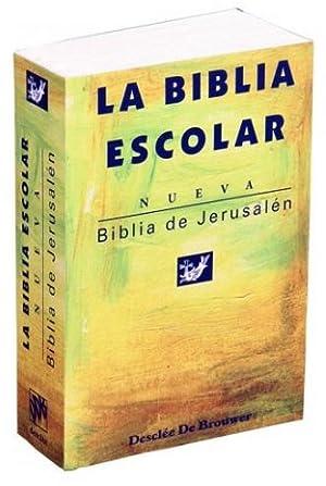 Biblia de Jerusalén edición de bolsillo escolar: Escuela Bíblica Arqueológica