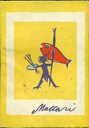 MINO MACCARI: 1977. Catalogo Mostra. Siena, luglio-ottobre: BRIGANTI Giuliano -