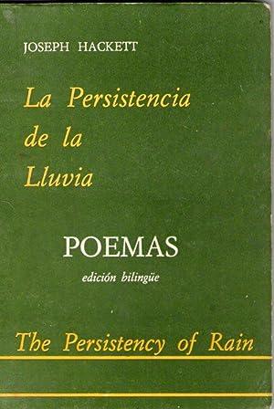 PERSISTENCIA DE LA LLUVIA, LA - THE: Hackett, Joseph