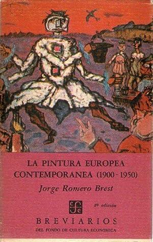 PINTURA EUROPEA CONTEMPORANEA, LA (1900.1950): Romero Brest, Jorge