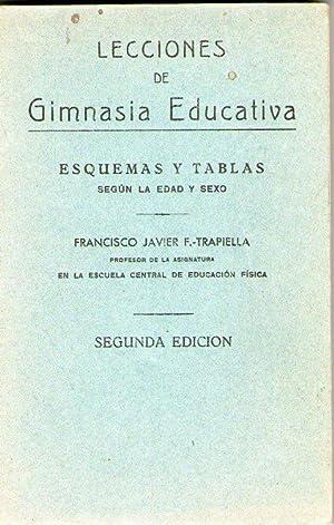 LECCIONES DE GIMNASIA EDUCATIVA - ESQUEMAS Y: F. Trapiella, Francisco