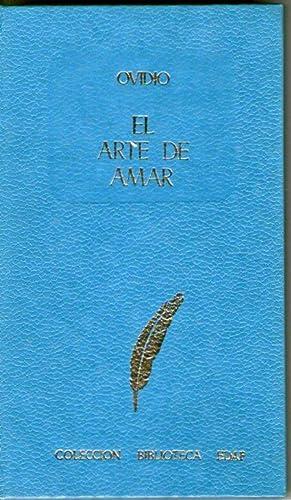 ARTE DE AMAR, EL: Ovidio