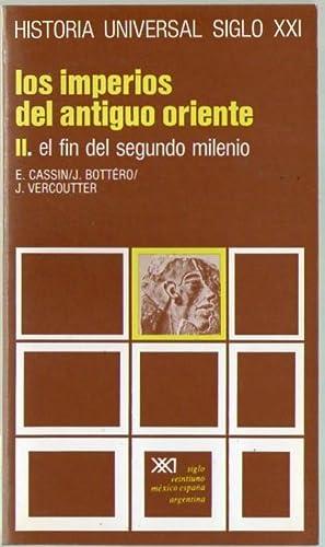 LOS IMPERIOS DEL ANTIGUO ORIENTE II. EL: Cassin, E. -