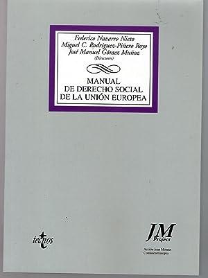 MANUAL DE DERECHO SOCIAL DE LA UNION: VV.AA