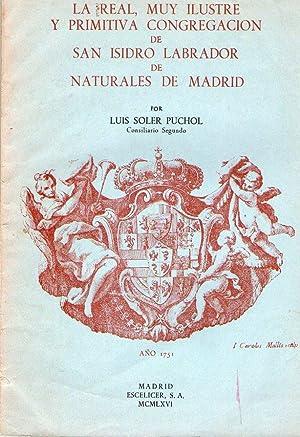 REAL MUY ILUSTRE Y PRIMITIVA CONGREGACION DE: Soler Puchol, Luis