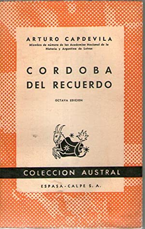 CORDOBA EN EL RECUERDO: Capdevila, Arturo