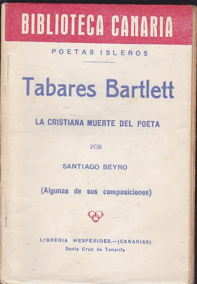 Poesia De Tabares Bartlett Biblioteca