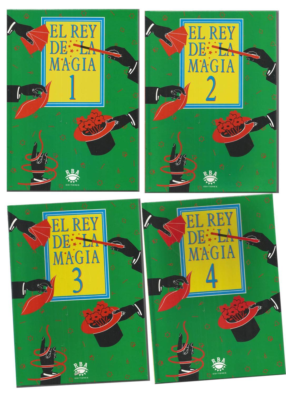 EL REY DE LA MAGIA 1+2+3+4 (4 libros) Ilustraciones color de Textos ...