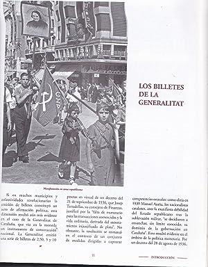 BILLETES DE LA GUERRA CIVIL 1936-1939 (Reproducción de 48 billetes históricos en ...