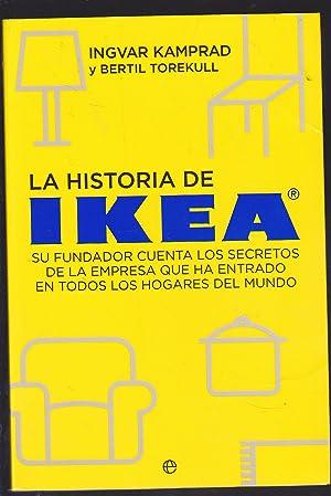 LA HISTORIA DE IKEA Su fundador cuenta: INGVAR KAMPRAD -BERTIL