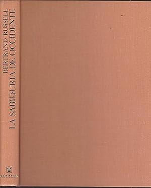 LA SABIDURIA DE OCCIDENTE (ILUSTRADO COLOR): BERTRAND RUSSELL