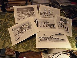 CIUDADES Y PUEBLOS DE ARAGON (Dibujos para la colección PUEBLOS ARAGONESES Carpeta 1 -6 l&...