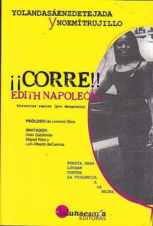 CORRE EDITH NAPOLEON Historias reales por desgracia(Poesía para luchar contra la violencia a...