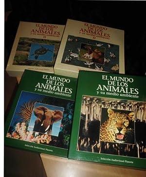 EL MUNDO DE LOS ANIMALES Y SU MEDIO AMBIENTE (Selección Audiovisual Planeta Colecc I + ...