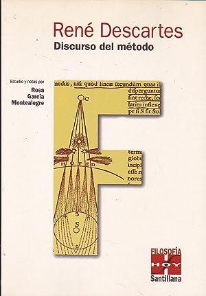 DISCURSO DEL METODO (colecc Filosofía Hoy) Con: DESCARTES Estudio y