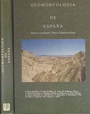 GEOMORFOLOGIA DE ESPAÑA (Planos-mapas-fotos): Coordinador MATEO GUTIERREZ ELORZA