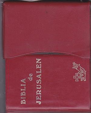 BIBLIA DE JERUSALEN Nueva Edición totalmente revisada: Integramente el texto