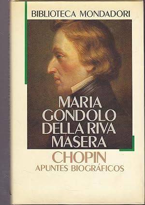 CHOPIN Apuntes Bibliográficos: MARIA GONDOLO DELLA