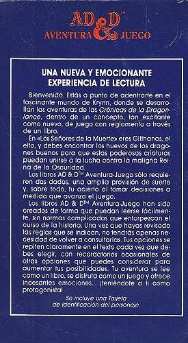 ADVANCED DUNGEONS & DRAGONS Aventura Juego 11 -LOS SEÑORES DE LA MUERTE (con Tarjeta de ...