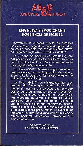 ADVANCED DUNGEONS & DRAGONS Aventura Juego 5 -EL CETRO DEL PODER Volúmen I de la Trilogía El ...