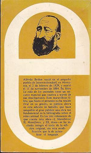LA VIDA DE LOS ANIMALES tomo 3 - AVES (Colección Brehm en tres tomos desarrollada de la ...