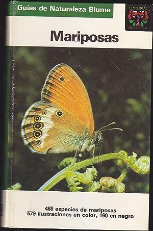MARIPOSAS (Guias de naturaleza Blume) 1ªEDICION -Ilustraciones color y b/n- 468 especies ...