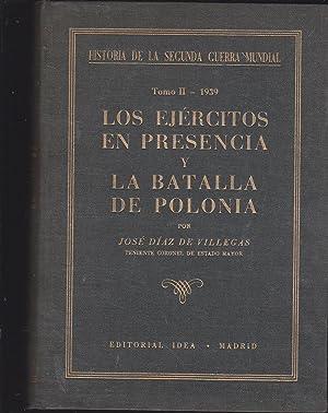 HISTORIA DE LA SEGUNDA GUERRA MUNDIAL Tomo: JOSE DIAZ DE