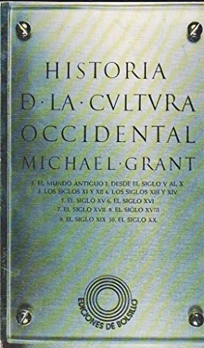 HISTORIA DE LA CULTURA OCCIDENTAL - mapas: MICHAEL GRANT trad