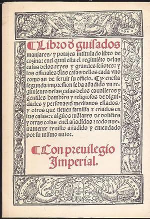 LIBRO DE GUISADOS MANJARES Y POTAJES INTITULADO: RUPERTO DE NOLA