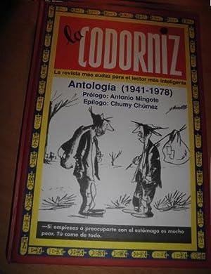 LA CODORNIZ Antología 1941-1978 2ªEDICION facsimil: VARIOS AUTORES de