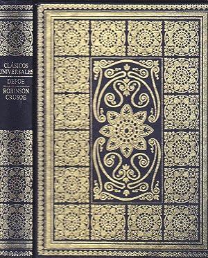 ROBINSON CRUSOE Col. Clásicos Universales - Ilustraciones: DEFOE /trad Carlos