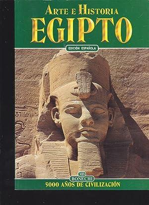ARTE E HISTORIA DE EGIPTO 5000 Años de Civilización (Edición Española) ...