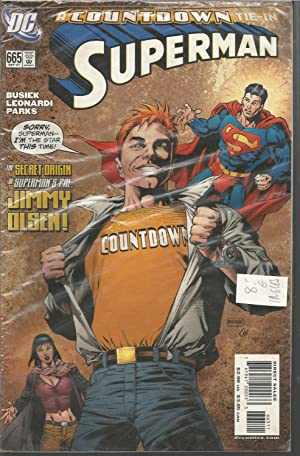 COUNTDOWN TIE-IN -SUPERMAN - The Secret Origin of Superman s pal665 Sept 07- Comic en inglés