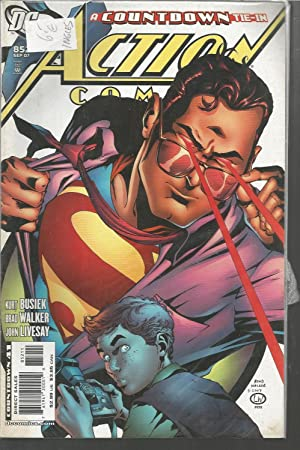 COUNTDOWN TIE-IN 41- 852 Sept 07-ACTION COMICS -Comic en Inglés