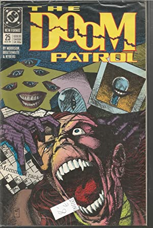 THE DOOM PATROL 25 Aug 89 -comic en inglés