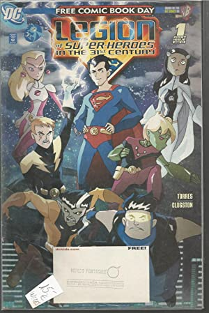 FREE COMIC BOOK DAY -LEGION OF SUPER HEROES IN THE 31th CENTURY -1 First Issue June 07 - Comic en...