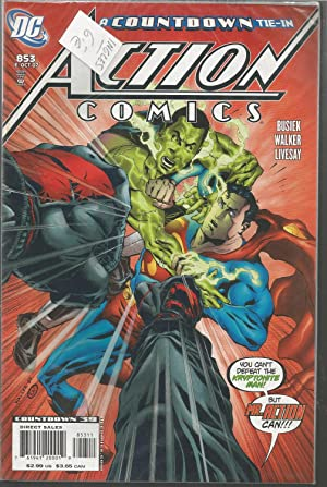 COUNTDOWN TIE-IN -853 Oct 07 -ACTION COMICS -Countdown 39 -Comic en Inglés