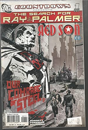 COUNTDOWN -THE SEARCH FOR RAY PALMER -RED SON- 1 First Issue Feb 08 -comic en Inglés