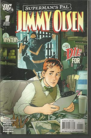 SUPERMAN S PAL JIMMY OLSEN 1 One Shot Dec 08 -Comic en Inglés