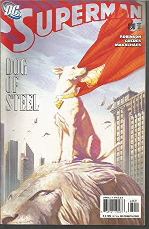 SUPERMAN -DOG OF STEEL -680 Nov 08 -Comic en Inglés