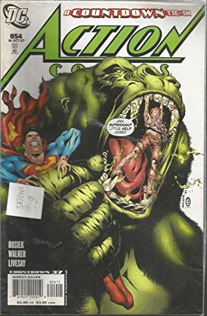 COUNTDOWN TIE-IN -854 Oct 07 -ACTION COMICS-Countdown 37 -Comic en Inglés